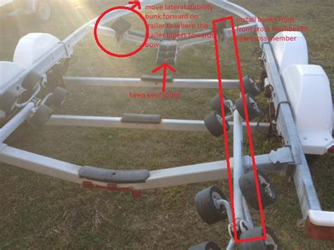 Boat Trailer Pads Or Rollers by Which Style Bunks For Trailer The Hull Truth Boating