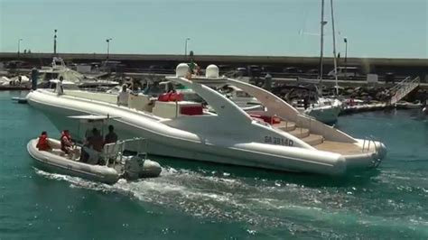 Biggest Fishing Boat In The World by The Worlds Largest Rib Puerto Colon Tenerife Youtube