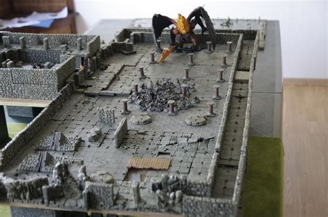 les mines de la moria en d 233 cors 3d sda g 233 n 233 ral warhammer forum