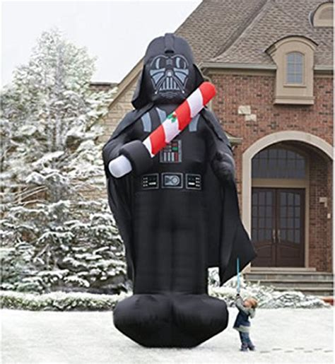 Candy Cane Decorations by Star Wars Inflatable Christmas Decorations Comfy Christmas