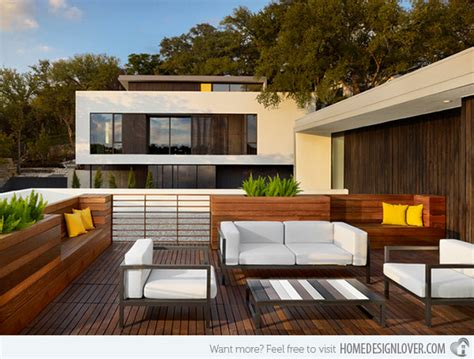 Home Terrace : Modern And Contemporary Rooftop Terrace Designs-fox