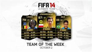 FIFA Ultimate Team - Team of the Week - October 2