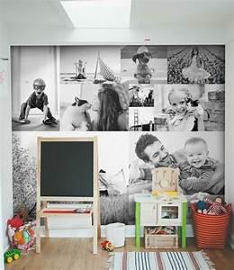 Bilderwand Gestalten Ohne Rahmen : 1001 ideen f r fotowand interessante wandgestaltung bilderwand rahmen und schwarzer ~ Markanthonyermac.com Haus und Dekorationen