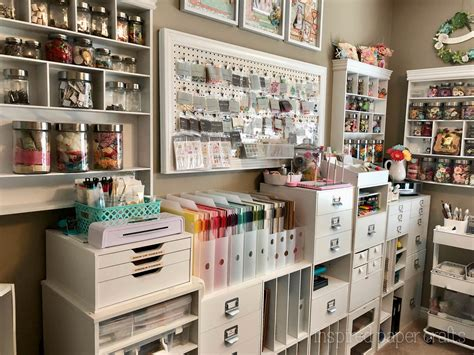 Craft Room Organization  Inspired Paper Crafts