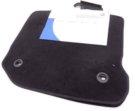 new oem 2003 2012 vw golf gti r32 jetta rear black carpet floor mats floormats ebay
