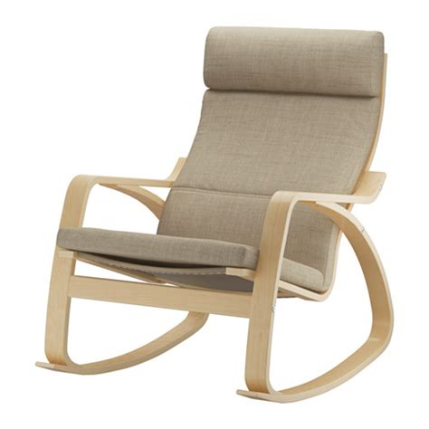 po 196 ng rocking chair isunda beige ikea