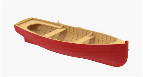 Quad Row Boat by 3d Wooden Row Boat