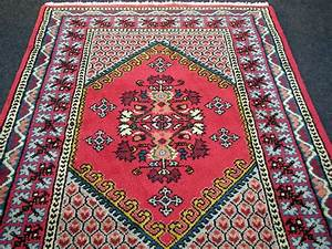 Berber Teppich Marokko : orient teppich berber 182 x 123 cm marokko rot handgekn pft carpet rug tappeto ebay ~ Markanthonyermac.com Haus und Dekorationen