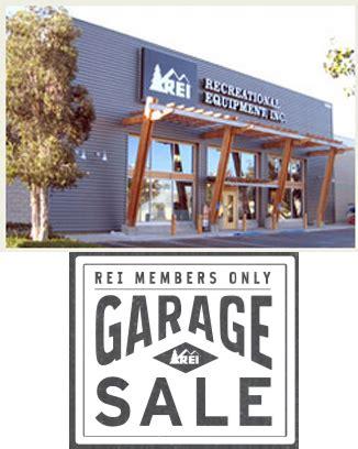 Rei Garage Sale (103 & Instore Members Only