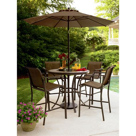 furniture outstanding ideas of outdoor high top table to beautify your patio heram decor