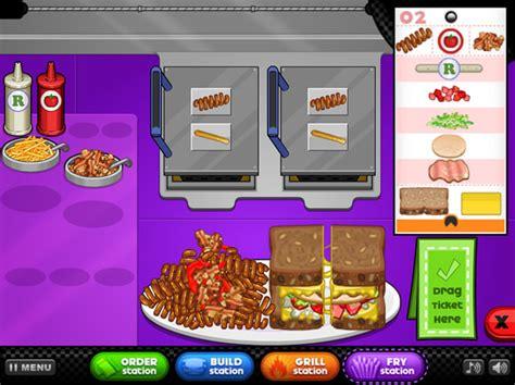 jouer 224 papa s cheeseria jeux gratuits en ligne avec jeux org