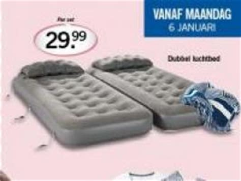 Luchtbed Discounter by Dubbel Luchtbed Aanbieding Week 02 2014 Lidl