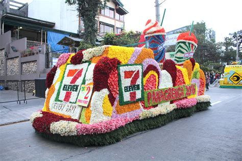 in photos stunning floats in bloom at panagbenga 2016
