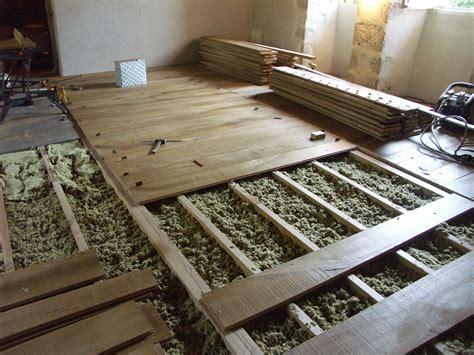 le chantier avant la pose plancher m 233 di 233 val en bourbonnais n 176 324