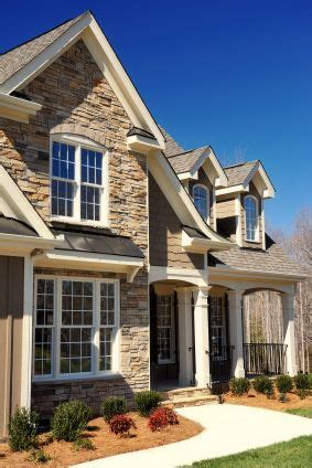 How To Replace Vinyl Siding With Brick Or Stone  Stone