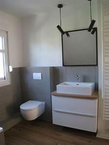 Badezimmer Fliesen Ideen Grau : die 25 besten ideen zu beton badezimmer auf pinterest armaturen moderne badezimmer und ~ Markanthonyermac.com Haus und Dekorationen