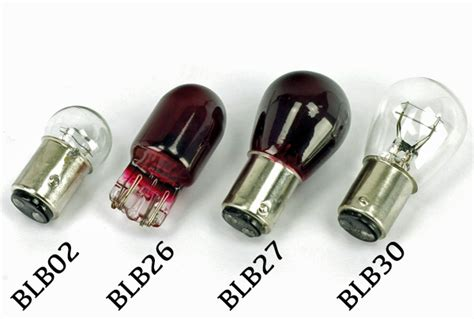 Motorcycle Rear Stop And Tail Light Bulbs 12v, Bulbs