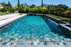 piscine en carrelage green bali carrelage et salle de bain la seyne var caro styl