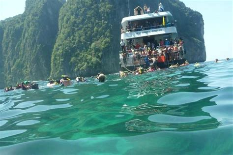Angel Boat Cruises by Snorkeling At Maya Bay Picture Of Sea Angel Cruise