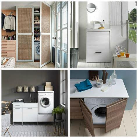 meuble machine 224 laver pour un coin buanderie pratique