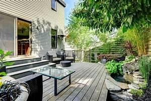 Gestaltung Von Terrassen : terrassengestaltung sichtschutz f r neugierige blicke ~ Markanthonyermac.com Haus und Dekorationen