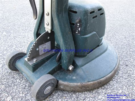 nobles tennant 2000ds 608720 floor scrubber polisher burnisher no cable we ship