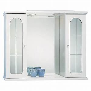 Spiegelschrank Weiß Holz : riva spiegelschrank magic 79 x 64 cm energieeffizienzklasse c 2 t rig wei bauhaus ~ Markanthonyermac.com Haus und Dekorationen