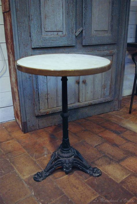 ancienne table bistrot par le marchand d oublis