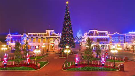 Image Anaheim California Disneyland Usa Christmas Hdri New