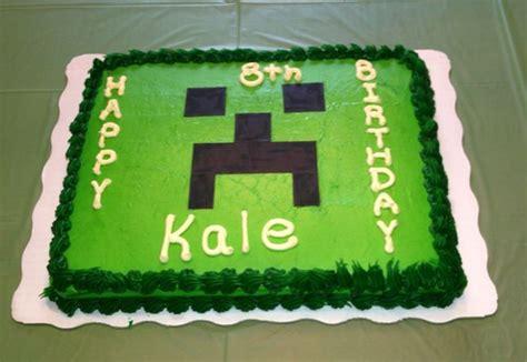 minecraft cakes decoration ideas birthday cakes