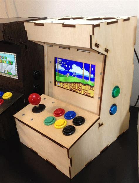 Mini Arcade Cabinet Kit by Porta Pi Arcade A Diy Mini Arcade Cabinet For Raspberry