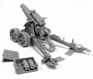 Forge World - HEAVY ARTILLERY CARRIAGE WITH MEDUSA SIEGE ...