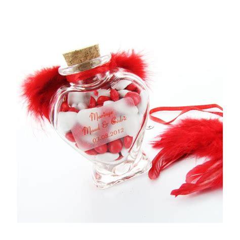 pot drag 233 es coeur en verre boite 224 dragees sujets fleurs de drag 233 es