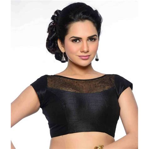 Boat Neck Readymade Blouses Online online shopping store to buy latest readymade beautiful