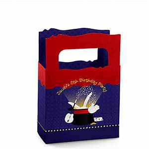 Magic - Personalized Birthday Party Mini Favor Boxes ...