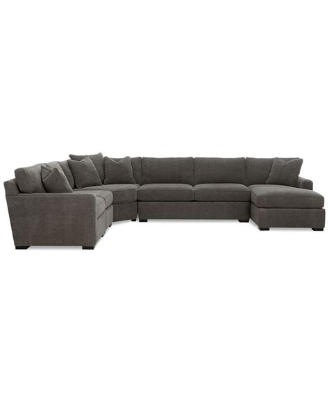 Radley Sectional Sofa Macys by Radley 5 Fabric Chaise Sectional Sofa