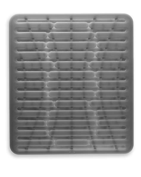 oxo silicone sink square mat williams sonoma