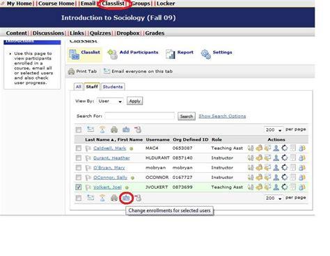 d2l tips and tricks version 9 x d2l course list view