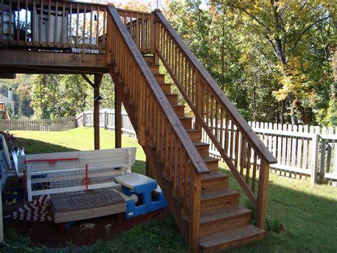 Deck Stair Handrail Code  Home Design Ideas