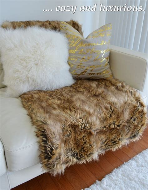 miller faux fur throw style at home