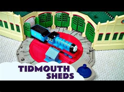 trackmaster tidmouth sheds toys r us being busy friends song funnycat tv
