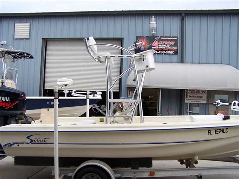 Boat Tower Control Station by Flats Boat Bay Boat Tower Gallery By Action Welding