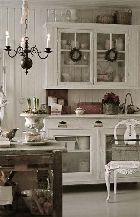 35 Awesome Shabby Chic Kitchen Designs, Accessories And