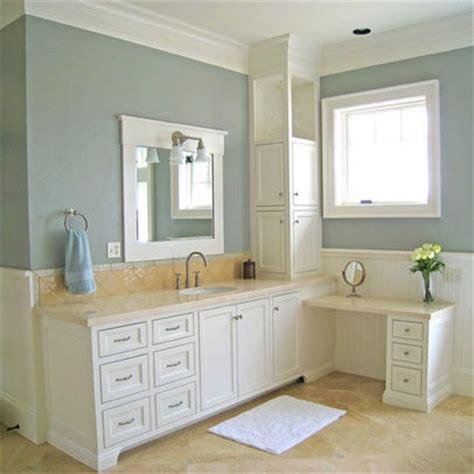 l shaped vanity design loft living