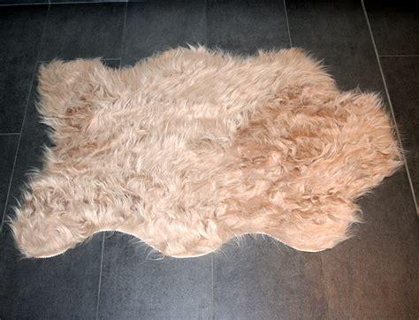 peau de mouton synth 233 tique beige mycocoonstore