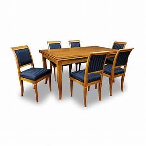 Weißer Esstisch Mit Stühlen : esstisch mit 6 st hlen im biedermeierstil bei stilwohnen ~ Markanthonyermac.com Haus und Dekorationen
