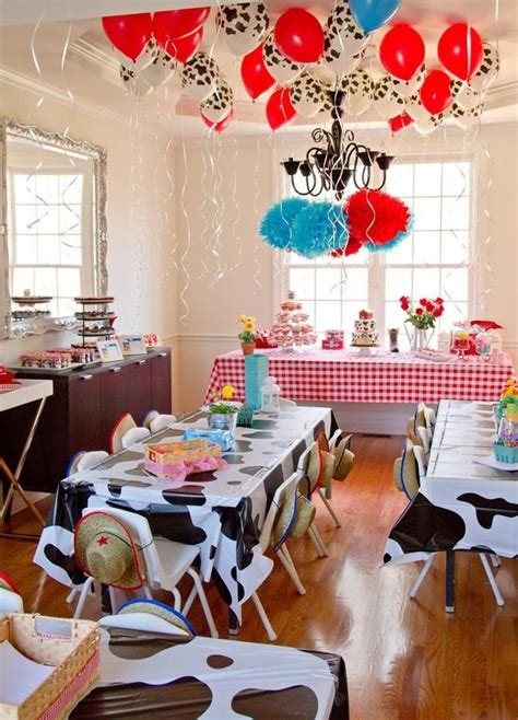 The Coolest Farm Birthday Party  Home Party Ideas