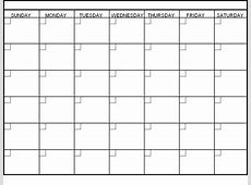 Printable 30 Day Calendar Online Calendar Templates