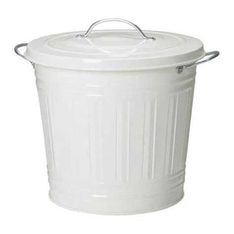 knodd poubelle blanc 16 l ikea