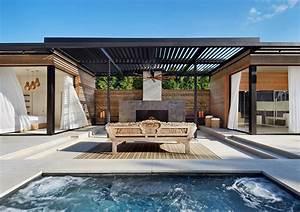 Gartenhaus Modernes Design : gartenhaus mit terrasse ein modernes projekt aus den usa ~ Markanthonyermac.com Haus und Dekorationen